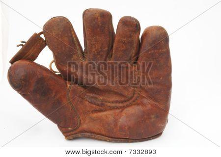 Old Leather Baseball Glove