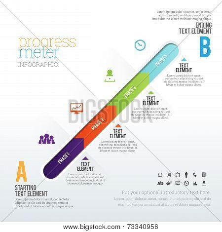 Progress Meter Infographic