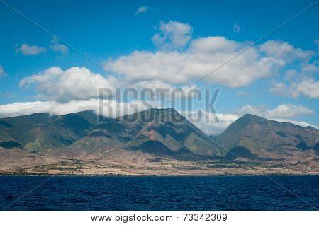 Coastline Of Northern Maui