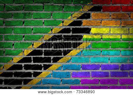 Dark Brick Wall - Lgbt Rights - Tanzania