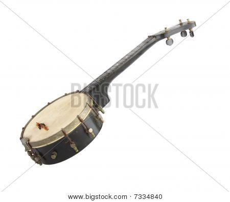 Old Vintage Banjo - missing a string