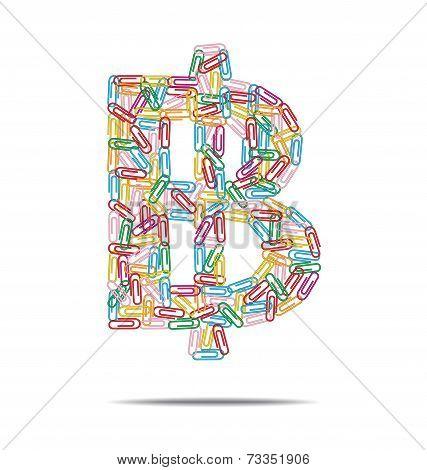 Baht Symbol Clips