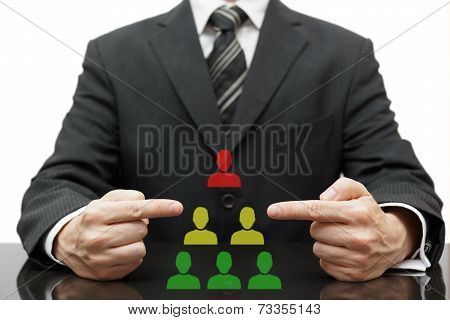 Organization With Difficult Boss, Bad Middle Management And Good Employees