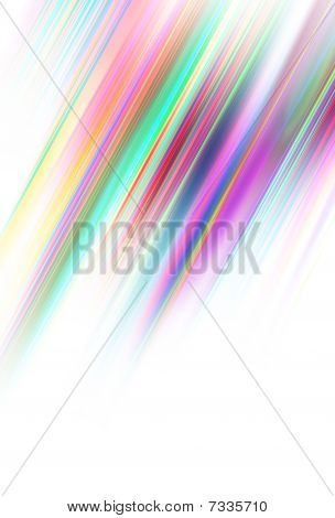 Colored Diagonal Stripes