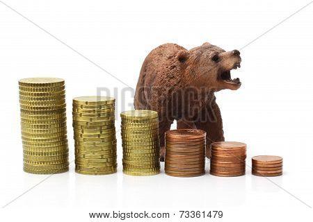 Bear Market On Stock Exchange