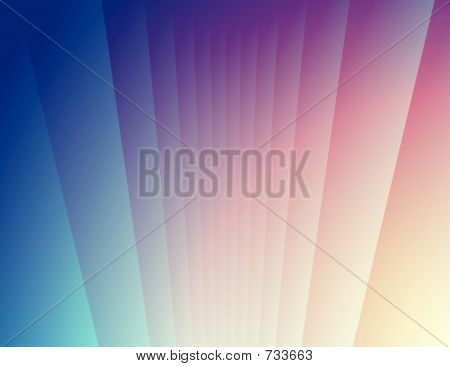 Abstract Background - Blue-Yellow-Pink