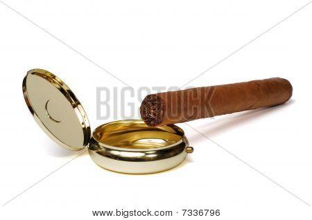 Cigar And Ashtray