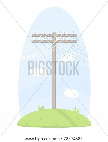 One Telegraph Pole