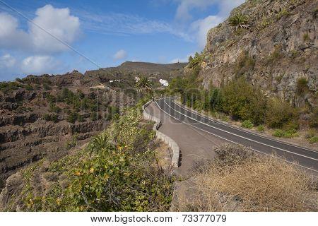 Road on La Gomera
