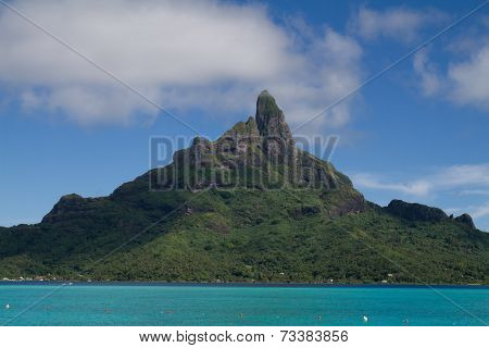 Mt. Otemanu in Bora Bora, French Polynesia