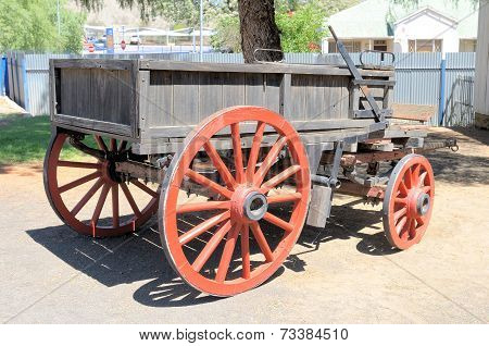 Horse Or Ox Drawn Wagon