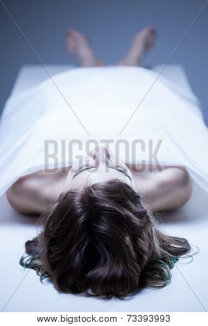 Corpse Of Young Woman