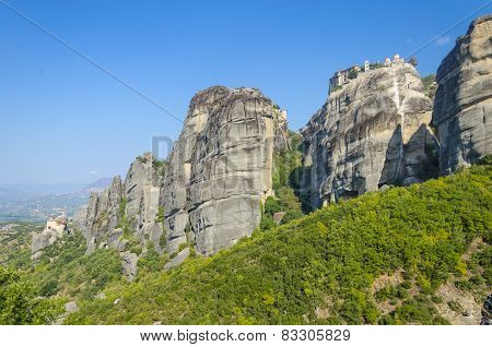 Rocky mountain Meteora, Greece