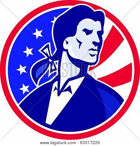 American Patriot Minuteman Stars Stripes Flag