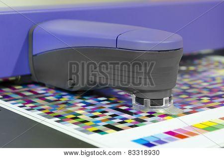 spectrophotometric measurement of color