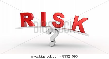Risk text balancing on question.