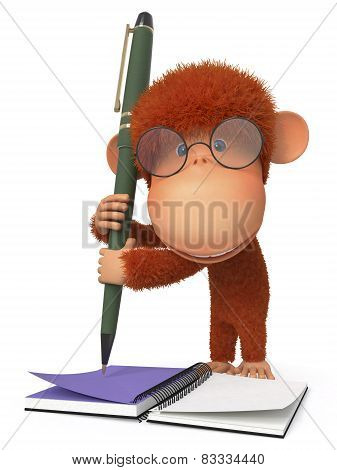 The Monkey With The Handle