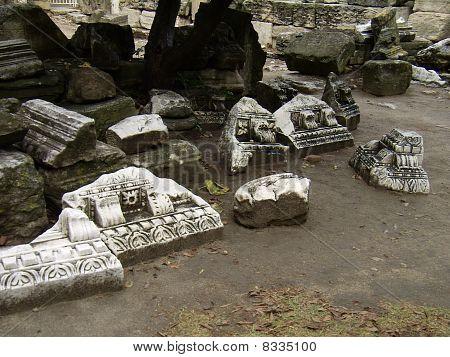 Roman theater in Arles in France