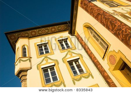 Bad Toelz, painted House