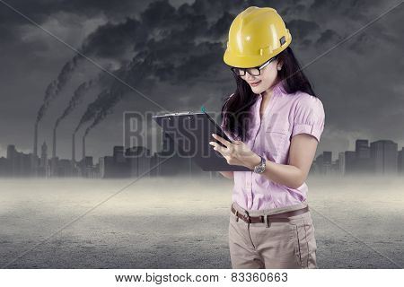 Engineer Doing Environment Survey