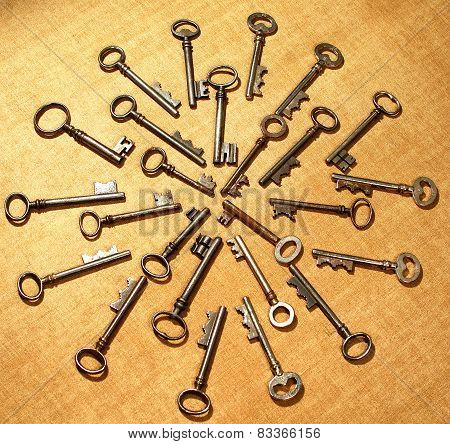 Skeleton key Mandela