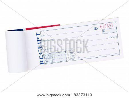 Sale Receipt Pad