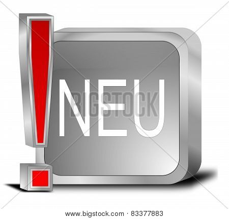 New Button - in german