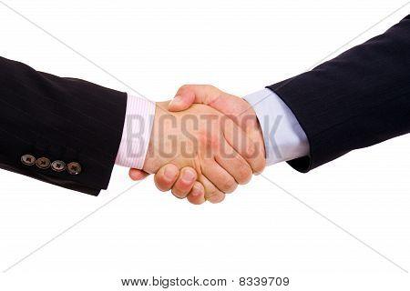Business Men Hand Shake