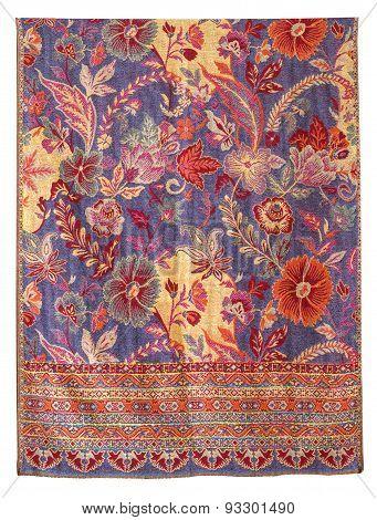 Silk fabric pattern