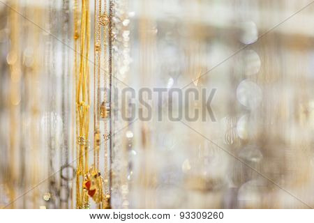 Bokeh Of The Decorations