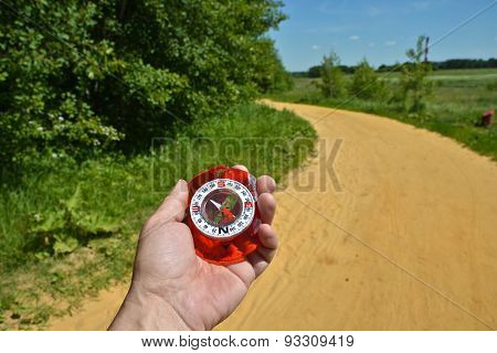 Compass In Hand.