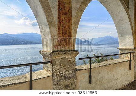 Monastery Of Santa Caterina, By Lake Maggiore, Italy