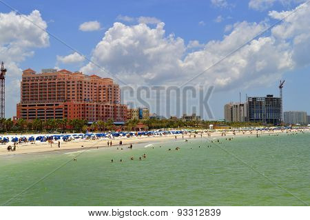Clearwater Beach, Florida, Gulf coast, Gulf of Mexico, Hotels, North America, Pinellas county, USA,