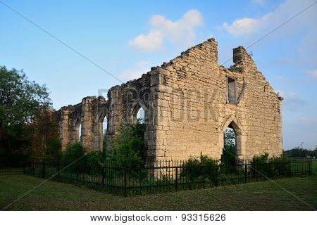 Old D Hanis Church Ruins