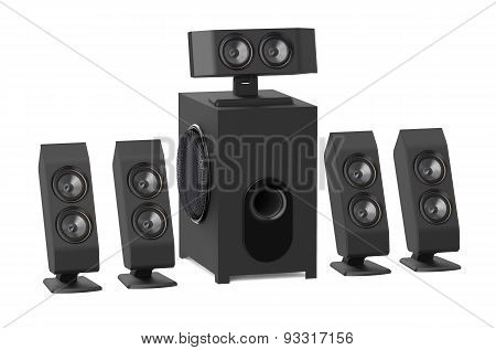 Loudspeakers With Subwoofer