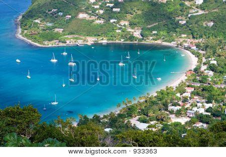 Beautiful Bay In Tortola