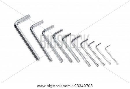 Set Of Hex Keys
