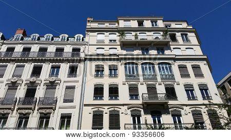 Renaissance Building Facade In Lyon