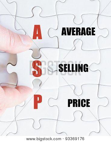 Last Puzzle Piece With Business Acronym Asp