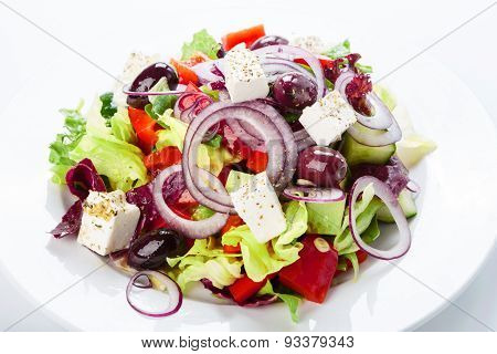 Restaurant Healthy Food - Greek Salad