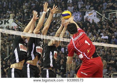 Paok Vs Olympiacos Greek Volleyleague Finals