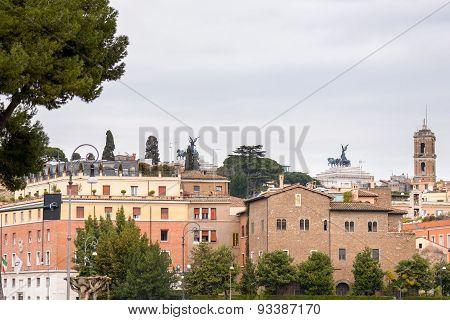 Square Of Bocca Della Verita Landscape