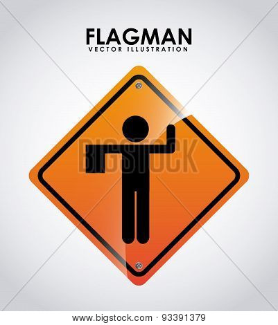flagman design
