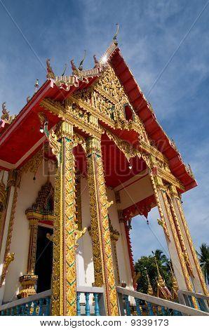 Buddhist Temple In Korat, Thailand