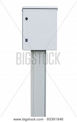 Power Distribution Wiring Switchboard Panel Outdoor Unit, Grey Brand New Distributing Board Box