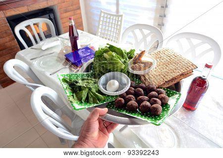 Passover Seder Plate - Jewish Holidays