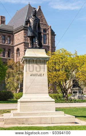 Queen's Park Statues: Sir James Whitney