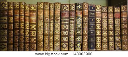 Old Books In Mafra Palace Library