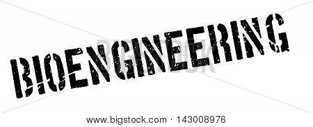 Bioengineering Rubber Stamp