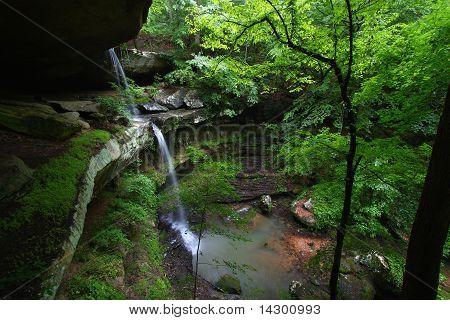 Schöne Alabama Landschaft
